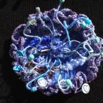 woven blue throat chakra